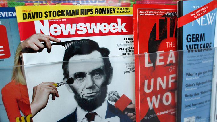 Cover van Newsweek in oktober 2012. Beeld REUTERS