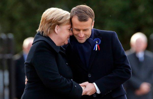 Twee Europese wereldleiders die zich van hun warme, menselijke kant laten zien: checkerdecheck