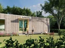 Studenten helpen mee aan de bouw van verplaatsbaar waterstofhuis in Hoogeveen
