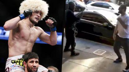 MMA-kampioen, en volgende opponent van McGregor, laat daklozen op niet al te fatsoenlijke wijze geld verdienen