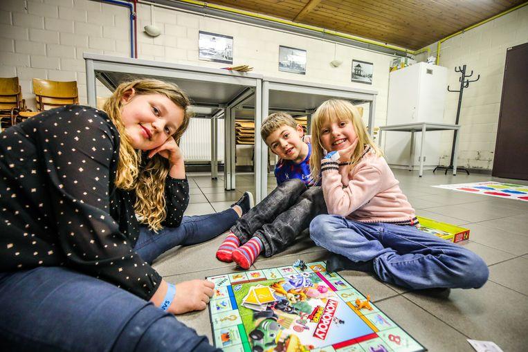 Voor de kleinere spelers was er onder meer Monopoly, Twister en reuzengrote vier op een rij.
