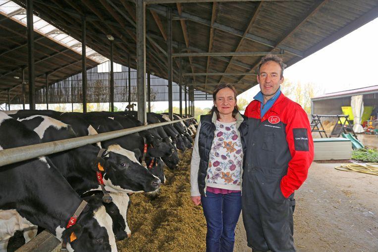MERCHTEM: Kathleen en Jos Van den Houtte bij hun dieren in de Potaerdehoeve.