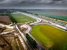 Nieuwe parallelbaan langs A16 bij Dordrecht vanaf donderdag in gebruik