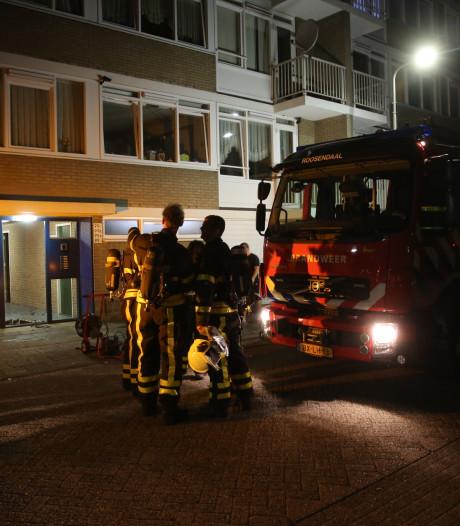 Berging in brand bij appartementen Roosendaal, brandstichting niet uitgesloten