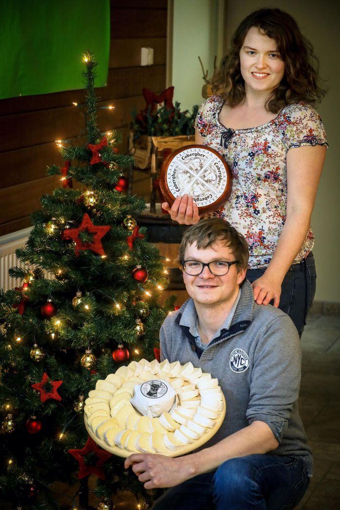 Thijs Dewicke en Lien Dezeure van de Moereneaar wonnen afgelopen jaar twee gouden en één bronzen medaille op de World Cheese Awards.