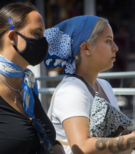 Boodschappen doen in de Belgische grensstreek mag niet zonder mondkapje