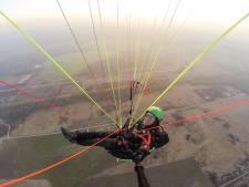 Paragliders verruilen deze winter Schalkwijk voor Terlet in Arnhem