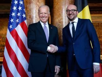 """Michel hoopt op """"hernieuwing van alliantie met VS"""" onder Biden"""