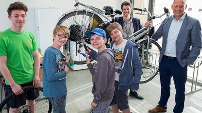 Fietsproject moet jongeren warm maken voor technisch onderwijs
