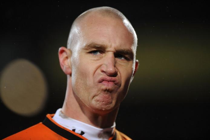Maikel Aerts, hier nog als doelman van Willem II.