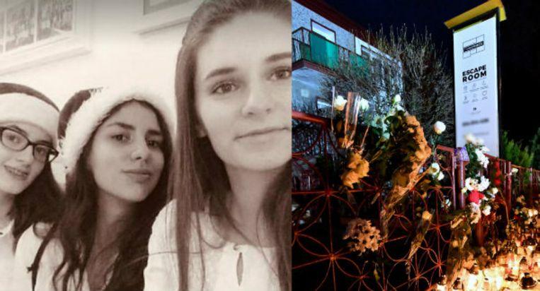 Amelia, Julia en Karolina. Drie van de vijf vriendinnen die omkwamen.