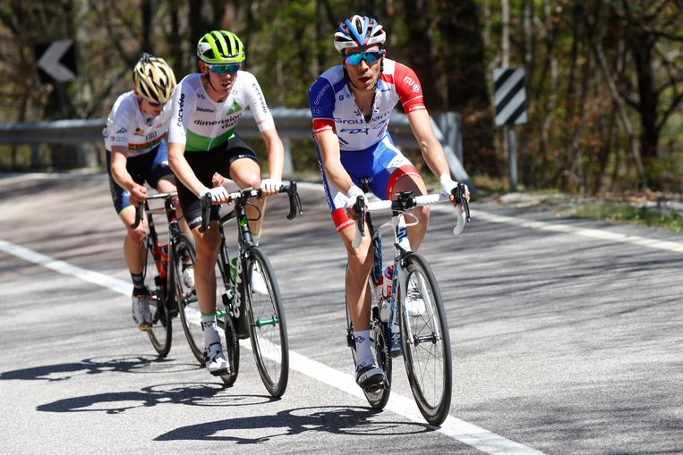 Thibaut Pinot was vorig jaar de beste in de Tour of the Alps.