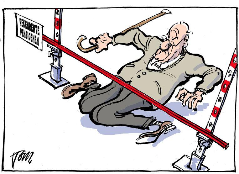 rekenrente pensioenen Beeld Tom Janssen