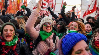 Argentijns parlement maakt weg vrij voor legalisering abortus
