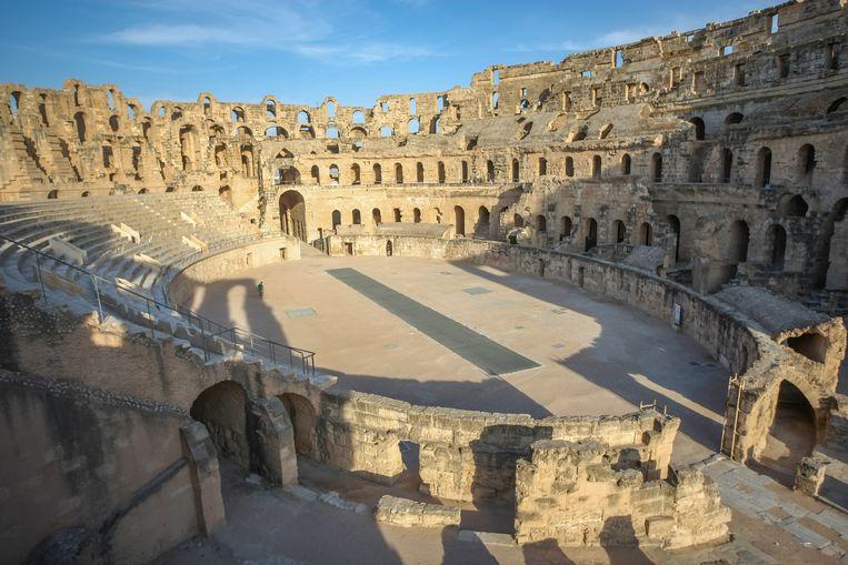 Het amfitheater van El Djem