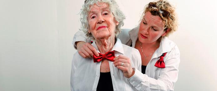 De theatervoorstelling 'Moeder mag niet dood' is te zien tijdens Lang leve...