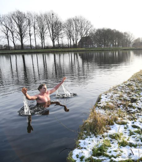 Dagelijkse duik in ijskoud water: Tilburger Magic is fitter dan ooit