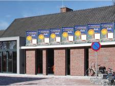 Alvast alternatieve zonnepanelen De Huve in Eibergen voor Koningsdag