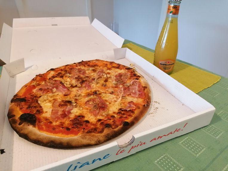 Pizza Allo Speck.