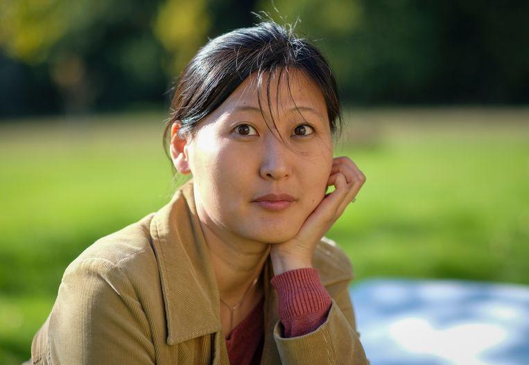 Anna Kim schotelt zo ongeveer het gehele politieke verloop van de Koreaanse twintigste eeuw aan de lezer voor in haar roman 'De grote thuiskomst'. Beeld Foto: Werner Geiger.