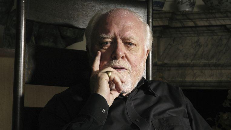 Richard Attenborough in Londen in 2004. Beeld getty