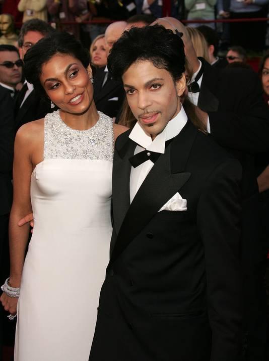 Prince met ex-vrouw Manuela Testolini