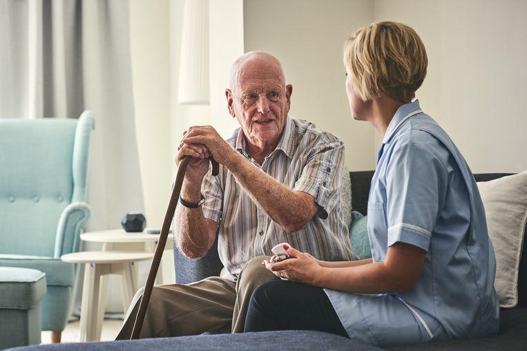 Geriatrie is voor zorgkundigen minder aantrekkelijk.