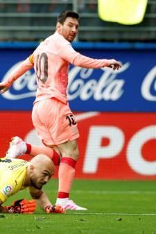 Lionel Messi égale le record mythique de Telmo Zarra