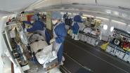 Frankrijk verplaatst zieken per vliegtuig