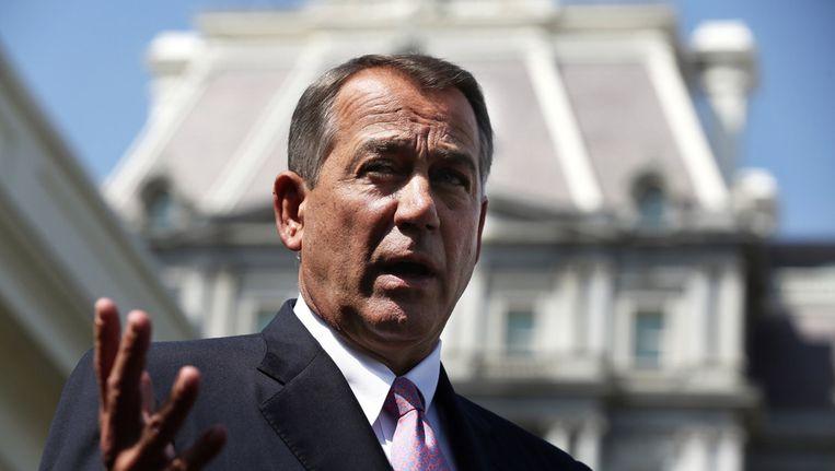 John Boehner Beeld getty