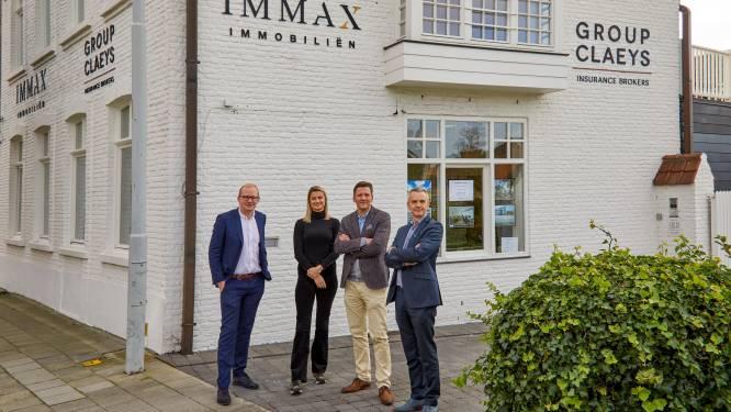 Immokantoor Immax opent, na vestiging in Knokke, nu ook in Brugge