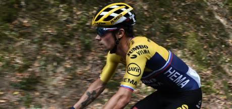 Roglic maakt indruk op Col de Porte en slaat dubbelslag
