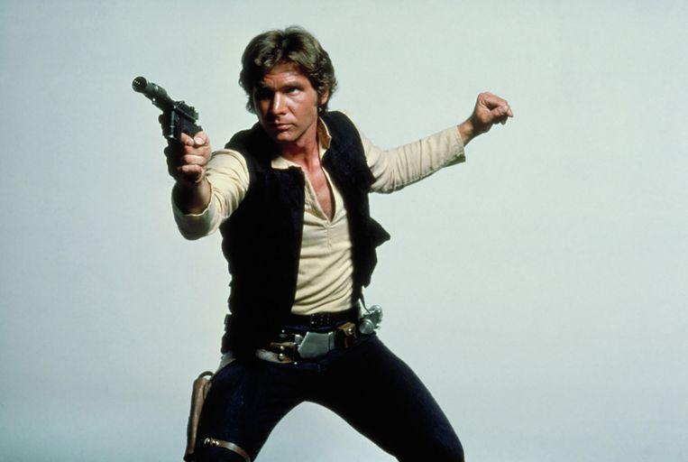'Geweldige rol van Harrison Ford. Han Solo had energie, hij was het vuur van die film.' Beeld null