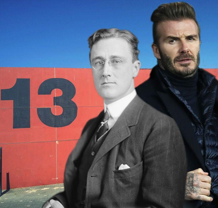 Franklin Roosevelt en David Beckham.