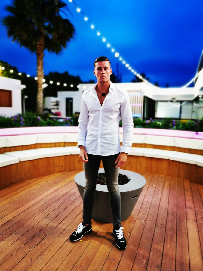 Matthy bij Love Island