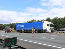 Opnieuw ongeval met vrachtwagen op de A12, verkeer rondom Arnhem vast