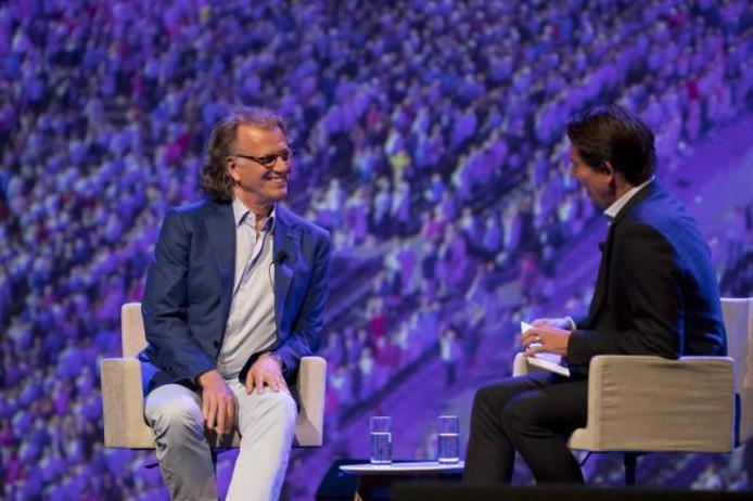 André Rieu tijdens het jaarcongres van de VNG