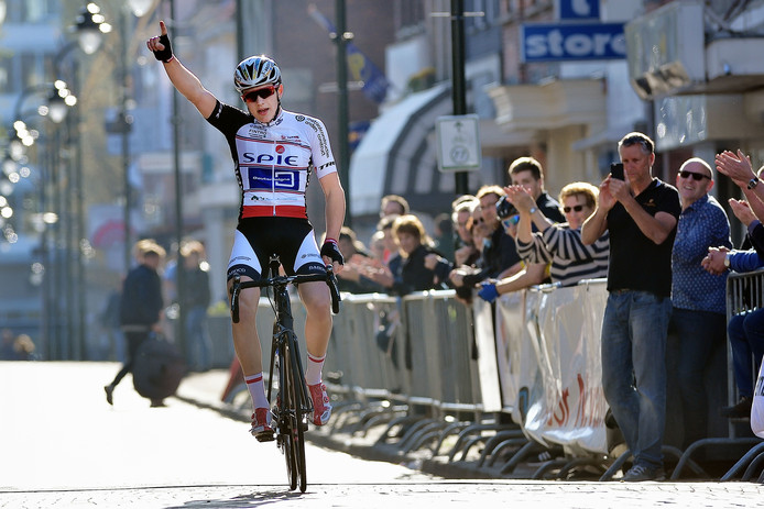 Archieffoto Ronde van Steenbergen met jeugdwedstrijden.
