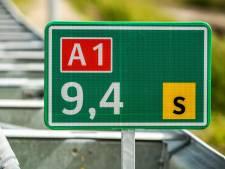 Rijbaan op A1 bij Markelo weer vrijgegeven na ongeval