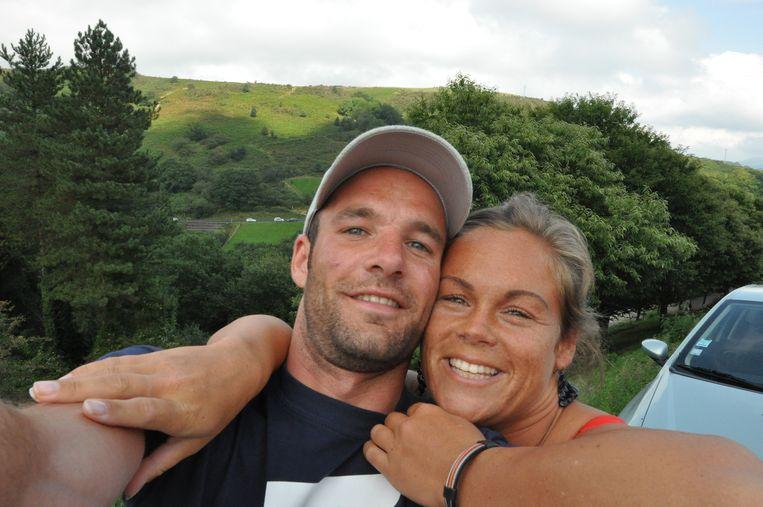 Rein en Desiree op een foto die door de familie aan de Volkskrant is gestuurd. Beeld -