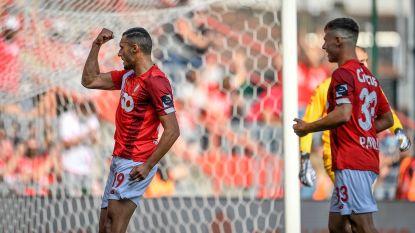 Standard wordt alleen tweede na vijf dolle minuten tegen KV Kortrijk