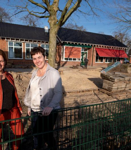 Spelen en ontdekken op nieuw schoolplein van de Kluinveenschool