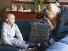 Bij Marijn (20) zijn kinderen met kanker even 'fotomodel'
