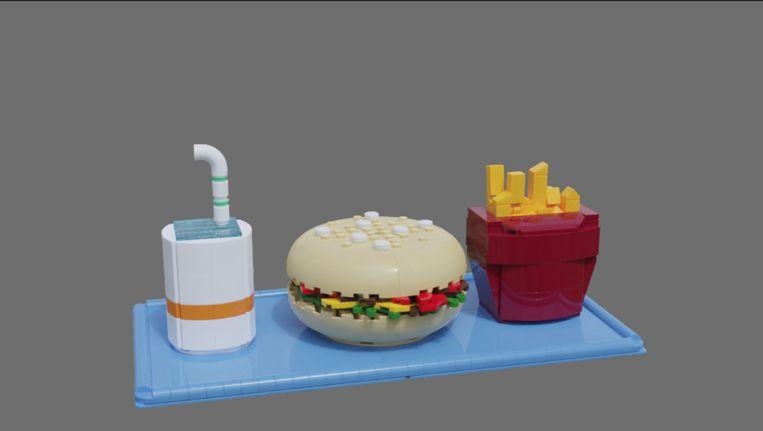 Fastfood van LEGO. Beeld LEGO Ideas