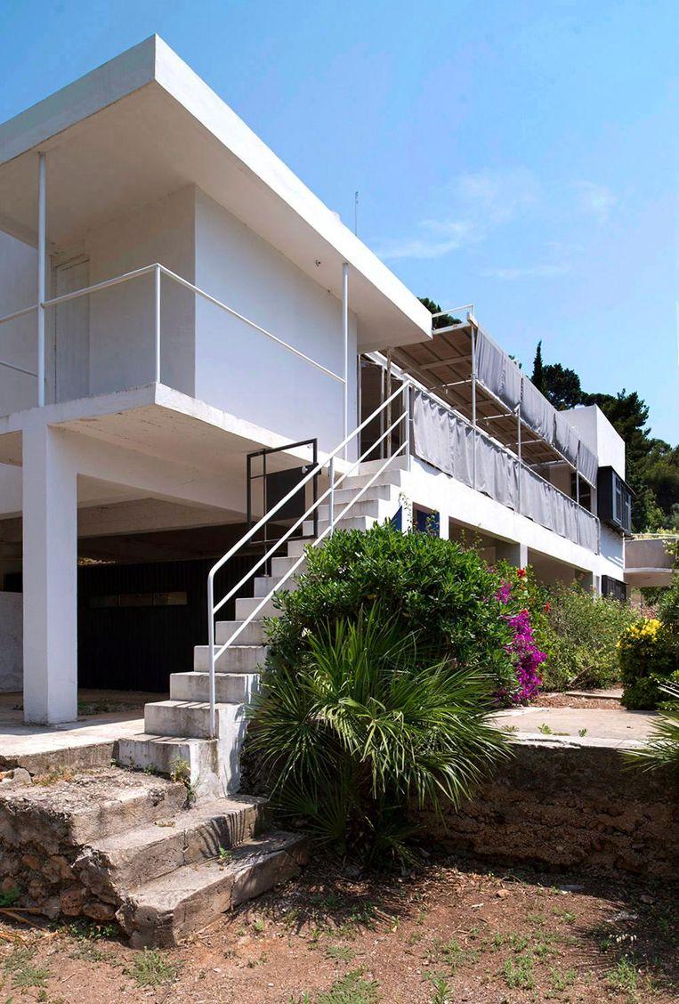 Villa E-1027, ontworpen door Eileen Gray. Beeld Manuel Bougot