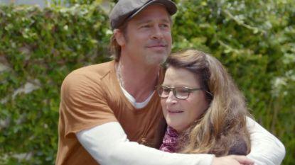 """Dat gênante moment tussen Brad Pitt en zijn make-upartieste: """"We konden elkaar niet in de ogen kijken"""""""
