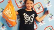 Nessa is 2.000ste deelneemster aan sportweken