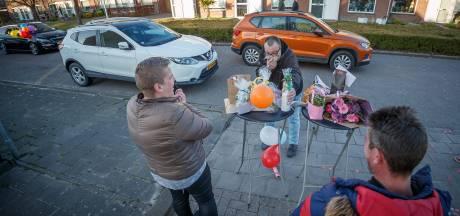 EL Drive thru-verjaardag voor jarige Marjolijn in Klundert