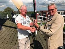 Jan Leen van Immerzeel (62), nieuwe molenaar voor molen De Lelie