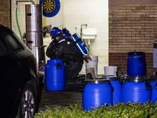 Politie met Media Lab naar Kaatsheuvel om vragen over drugslab te beantwoorden